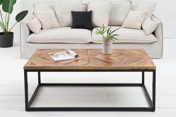 Konferenčný stolík Infinity Home 120cm prírodná Mango