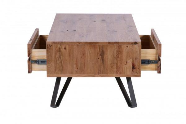 Konferenčný stolík Living Edge 110cm divý dub