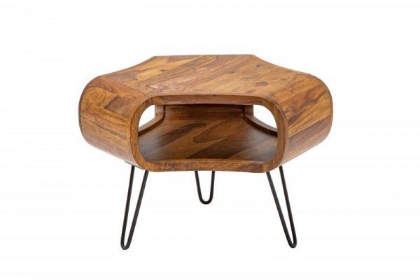 Konferenčný stolík Organic Living 60cm sheesham