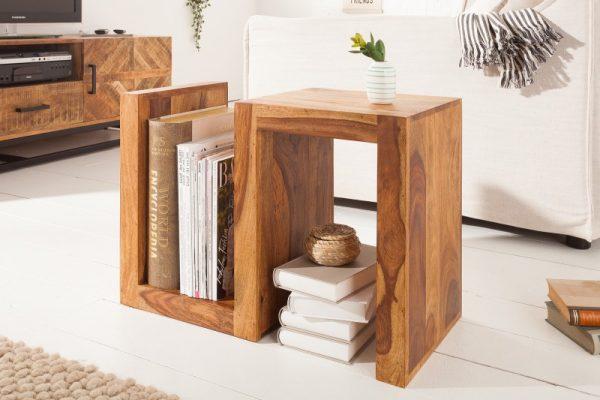 Konferenčný stolík S 60cm sheesham