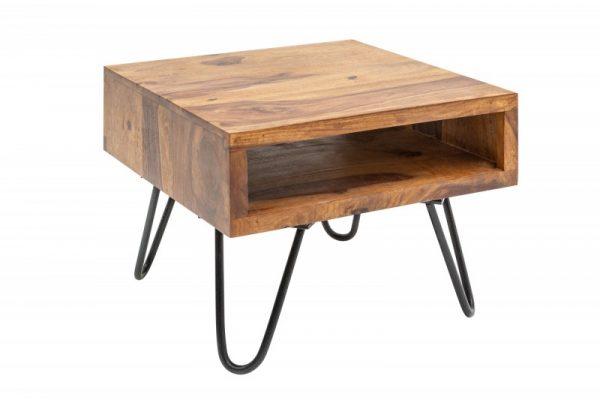 Konferenčný stolík Scorpion 45cm sheesham