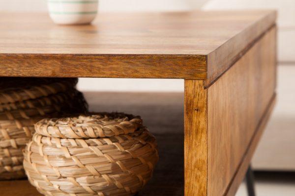 Konferenčný stolík Scorpion 60cm sheesham