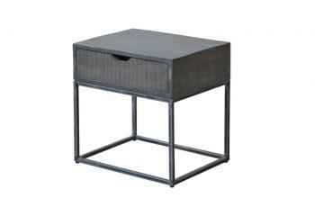 Nachttisch Iron Craft 45cm sivá Mango