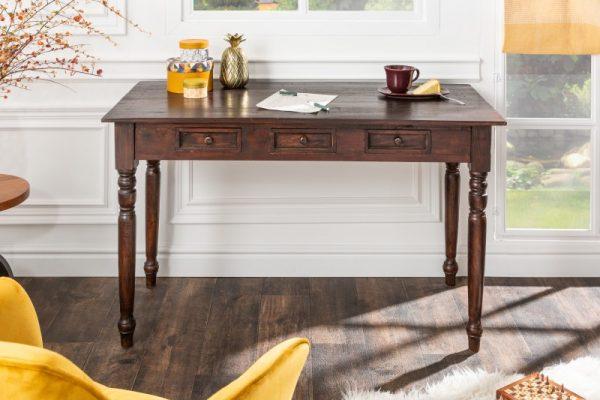 Písací stôl Hemingway 120cm mahagón