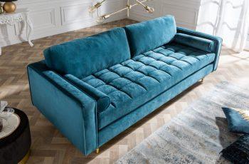 Sofa Cozy Velvet 225cm aqua zamat