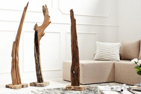 Soška Reef 100-125 naplavené drevoteakové drevo