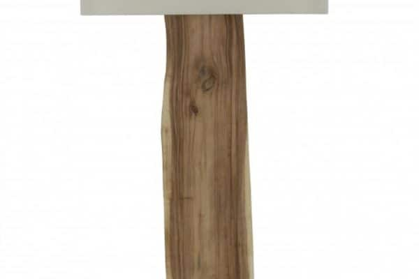 Béžová stojanová lampa Organic Living