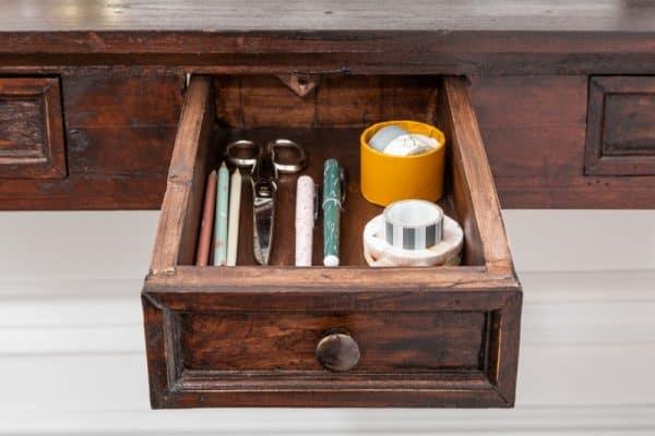Mahagónový písací stôl Hemingway 120cm »