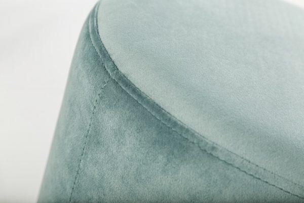Mentolovo-strieborný taburet Modern Barock 35cm »