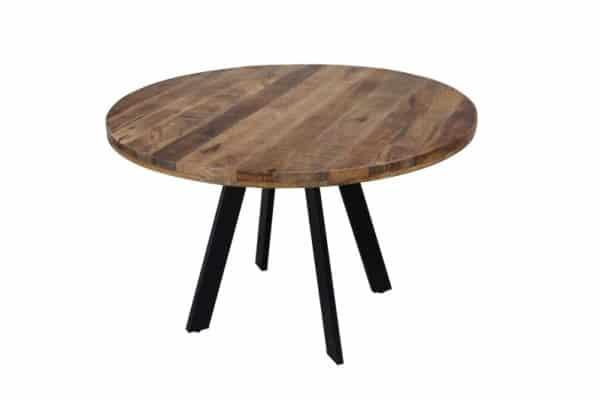 Okrúhly jedálenský stôl Iron Craft 120cm