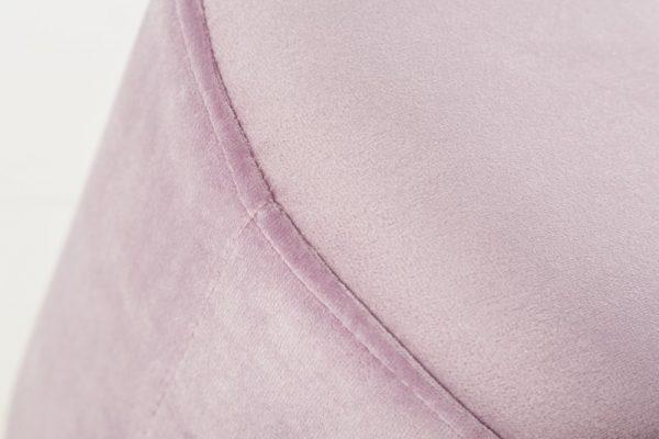 Ružovo-strieborný taburet Modern Barock 35cm »