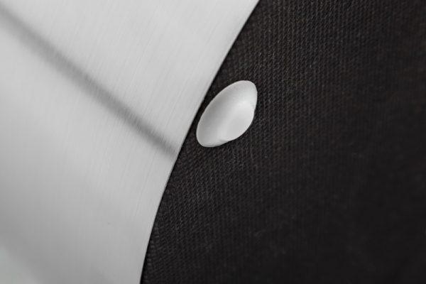 Strieborno-čierny taburet Modern Barock 55cm »