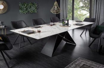 Jedálenský stôl Prometheus 180-260cm mramor