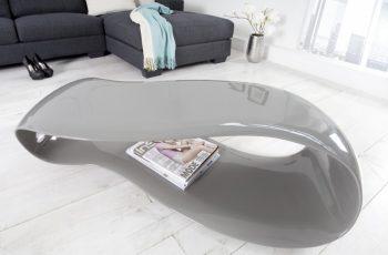 Konferenčný stolík OrganicLiving 110cm sivá
