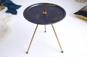 Konferenčný stolík SimplyClever 42cm blauzlatá