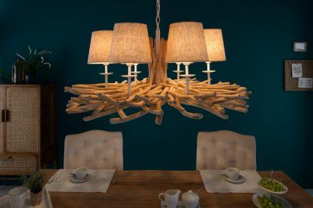 Luster Euphoria II 80cm naplavené drevo