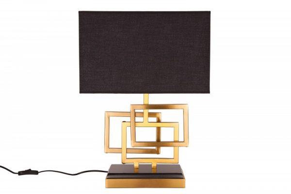 Stolová lampa Leonor 56cm zlatá
