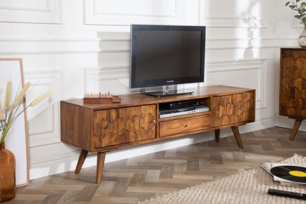 TV-stolík Mystic Living 140cm sheesham