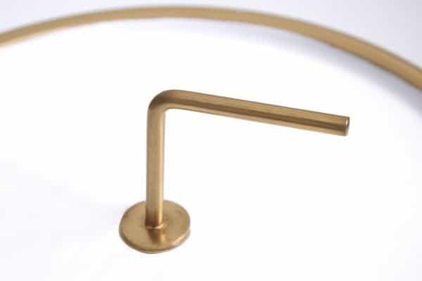 Bielo-zlatý konferenčný stolík Simply Clever 36cm