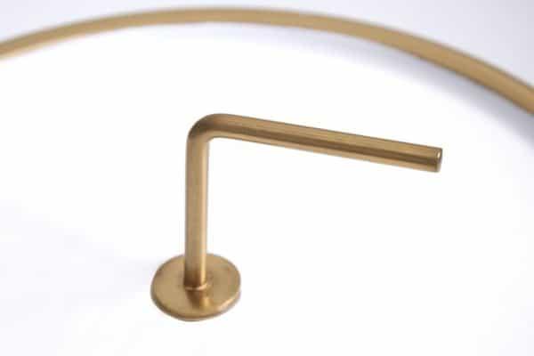 Bielo-zlatý konferenčný stolík Simply Clever 42cm