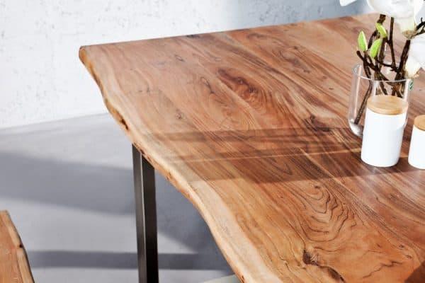 Jedálenský stôl Mammut 200cm z agátového dreva