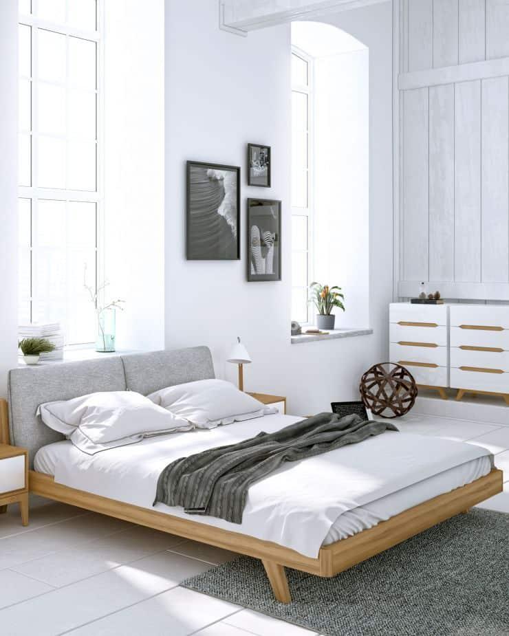 súčasná spálňa