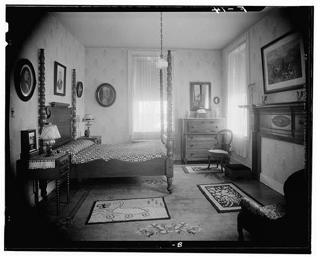 Spálňa z roku 1952.