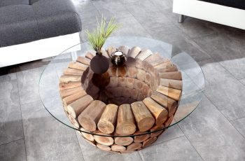Sklo pre konferenčný stolík Pure Nature 70cm