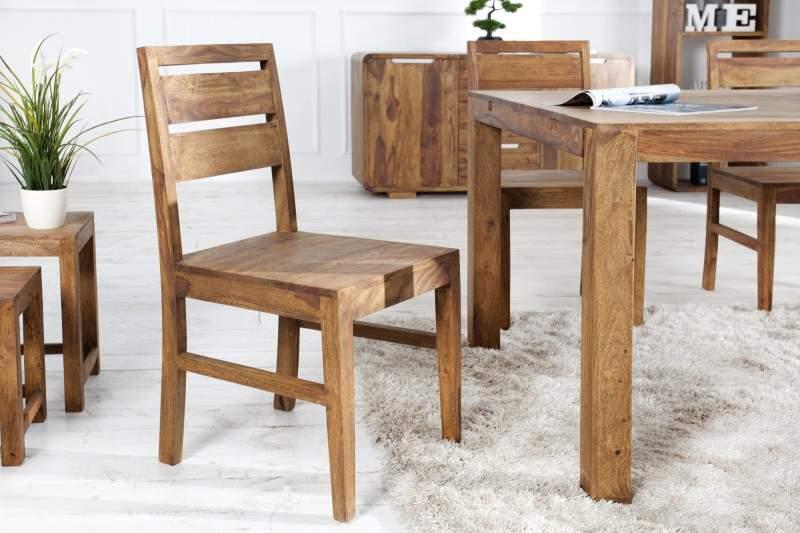 drevená jedálenská stolička lagos