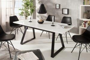 Jedálenský stôl Appartment 140-180cm biela
