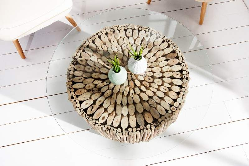konferenčný stolík Natures Art z naplaveného dreva