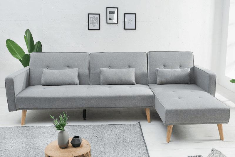 Nadčasová sivá sedačka Nordic