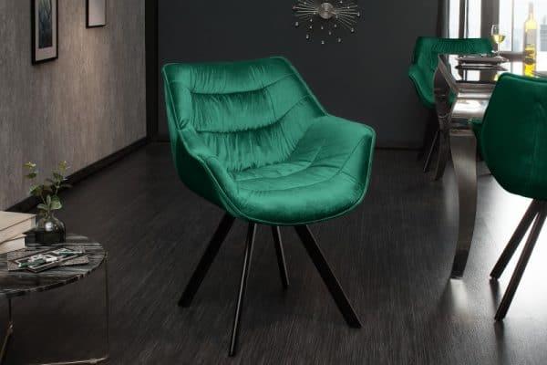 Stolička The Dutch Comfort smaragdzelená