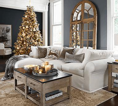 ako vyčistiť sedačku pred Vianocami