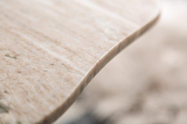 Biely mramorový konferenčný stolík Simply Clever 42cm