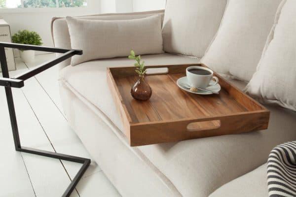 Čierna podnož pre drevený podnos Ciano