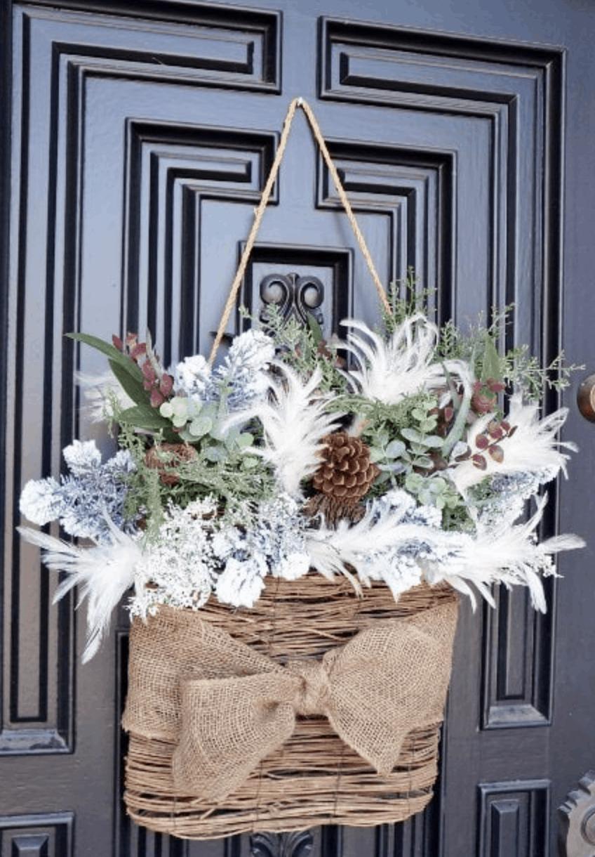 dekorácia na dvere