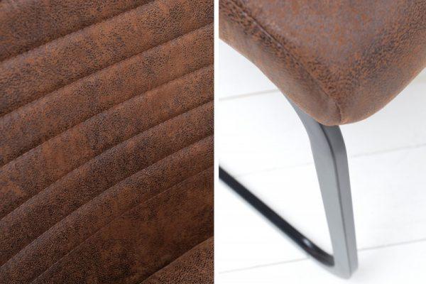 Hnedá jedálenská stolička Appartment