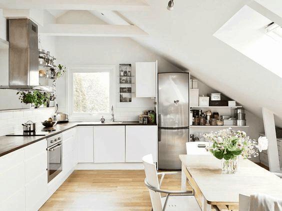 čaro kuchyne v podkroví