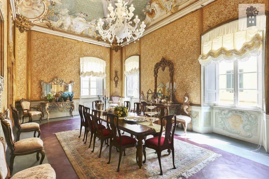 luxusné stolovania