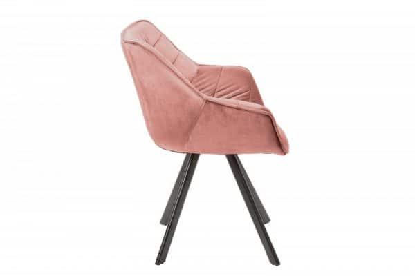 Staroružová jedálenská stolička The Dutch Comfort
