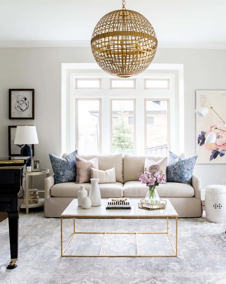 zariaďovenie obývačky