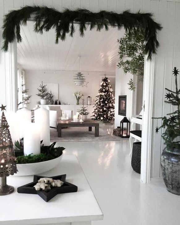 vianočná obývačka