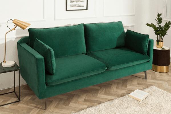 zelená sedačka