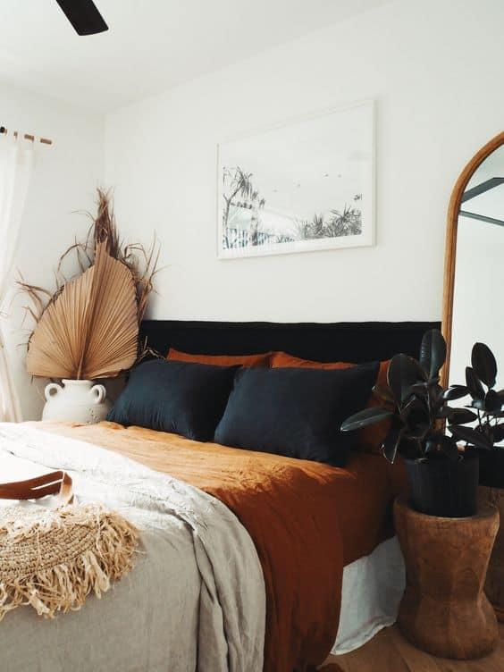 modra postel