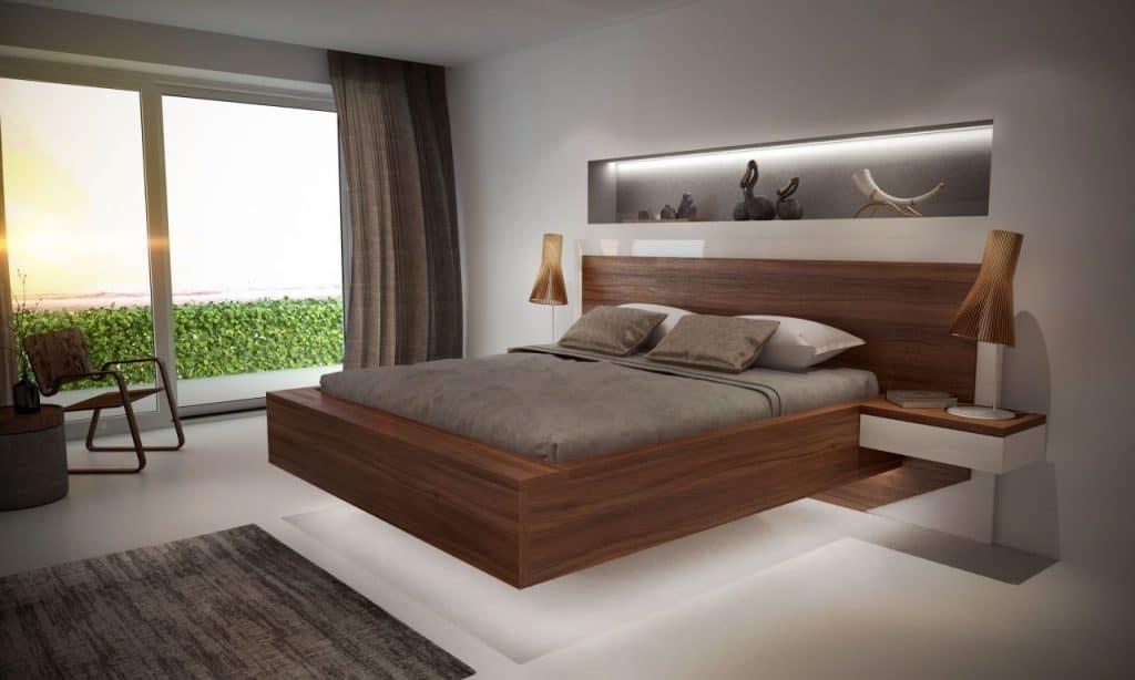 ustlaná posteľ