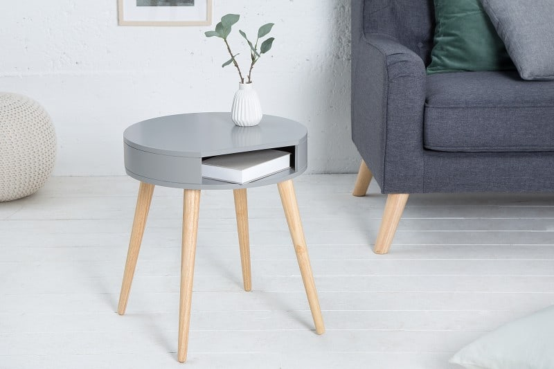 sivy nocny stolik