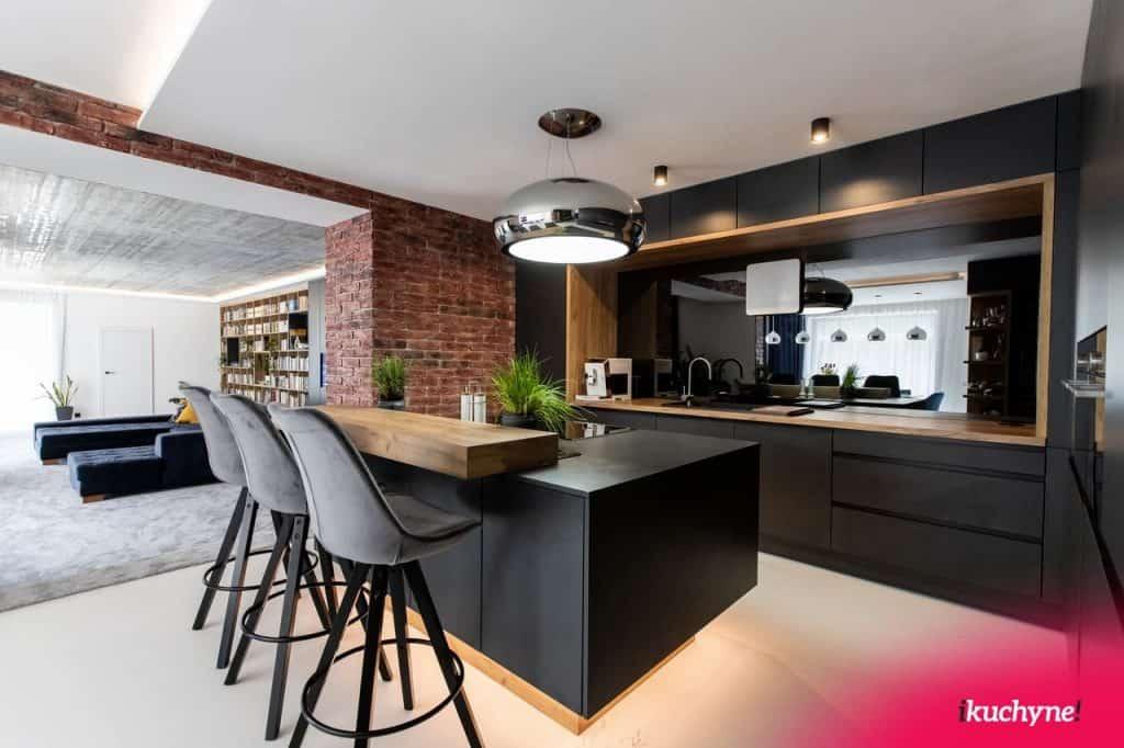 kuchyňa v industriálnom štýle