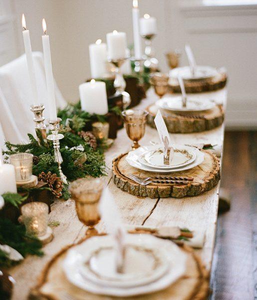 drevena podlozka pod taniere
