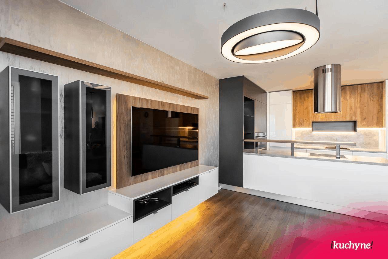 Postrehli ste prechod medzi kuchyňou a obývačkou? (Zdroj: ikuchyne.sk)